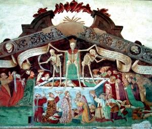 """""""Trionfo della morte"""", 1485. Oratorio dei Disciplini, Clusone (Bergamo)"""