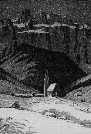 Selva di Val Gardena, da una guida tedesca del 1815