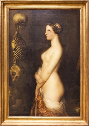 "Antoine Wiertz, ""La belle Rosine"", 1847. Bruxelles, Musée Wiertz."