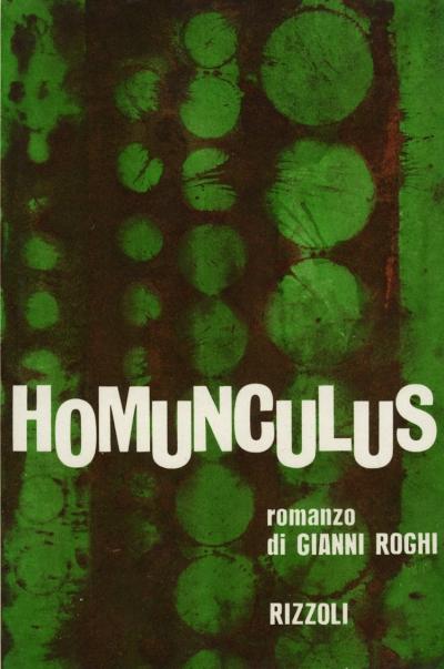 La copertina di Homunculus, realizzata da Giancarlo Ferronato